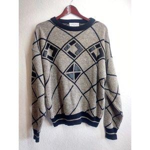 Vintage Men's Sweater Sz L